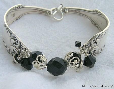 Как сделать кольцо из серебряной ложки (21) (452x354, 106Kb)
