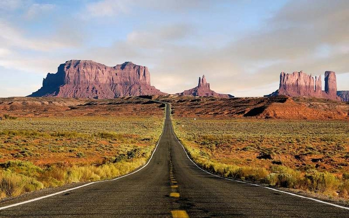 Гранд-Каньон - Великий Каньон в США.