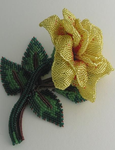 yellow_rose_brooche2 (453x592, 118Kb)