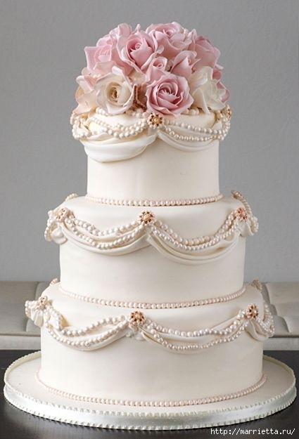 El más hermoso pastel de bodas (1) (425x625, 111Kb)