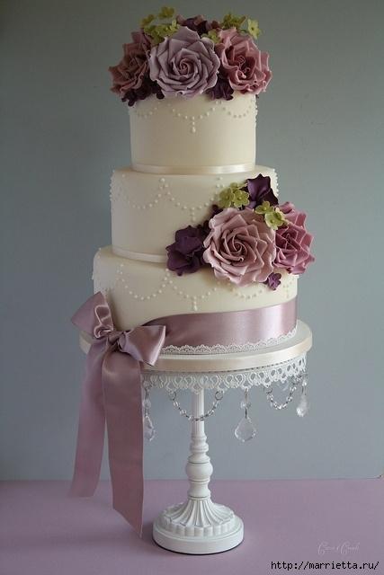 El más hermoso pastel de bodas (3) (427x640, 144Kb)