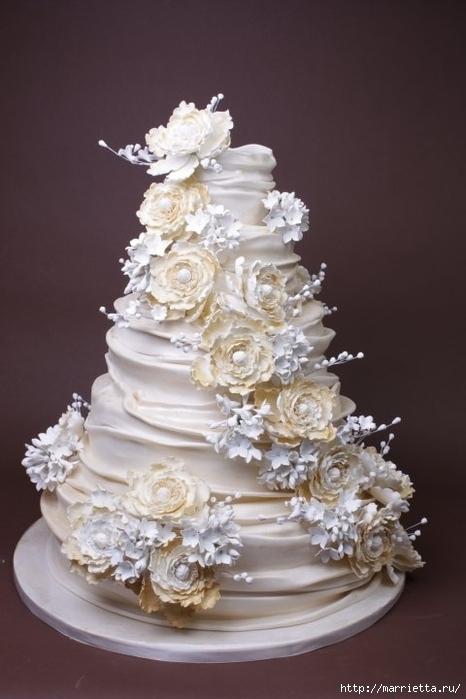 El más hermoso pastel de bodas (5) (466x700, 178Kb)