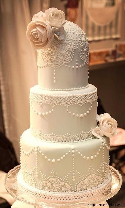 El más hermoso pastel de bodas (7) (421x700, 200Kb)