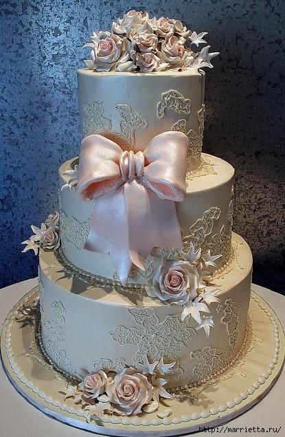 El más hermoso pastel de bodas (11) (415x636, 295Kb)