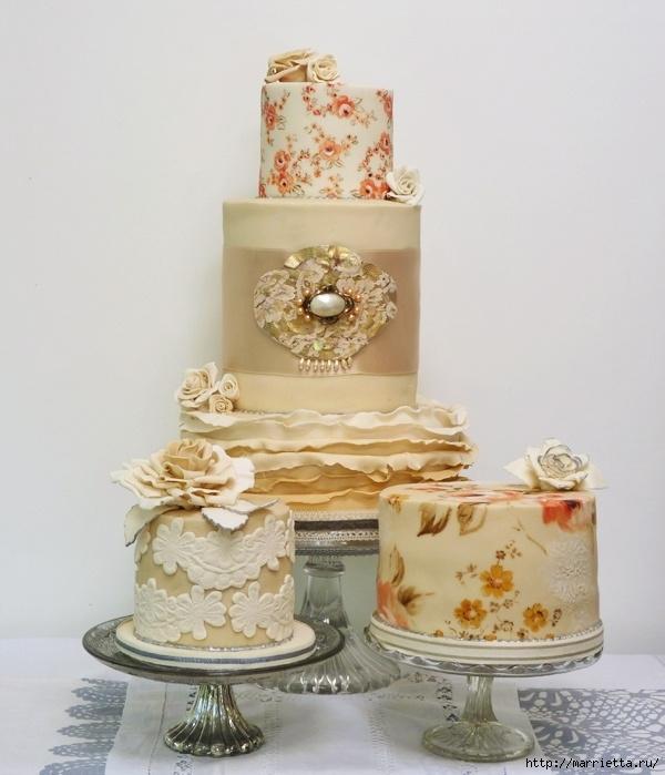 El más hermoso pastel de bodas (21) (600x699, 218Kb)