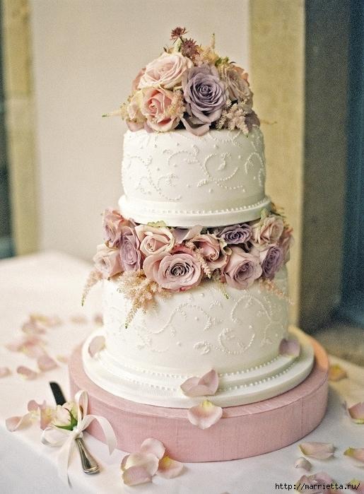 El más hermoso pastel de bodas (22) (515x700, 300Kb)