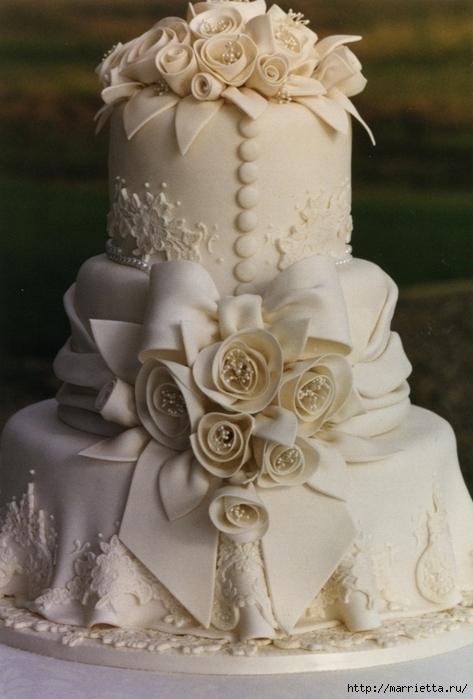 El más hermoso pastel de bodas (24) (473x700, 221Kb)