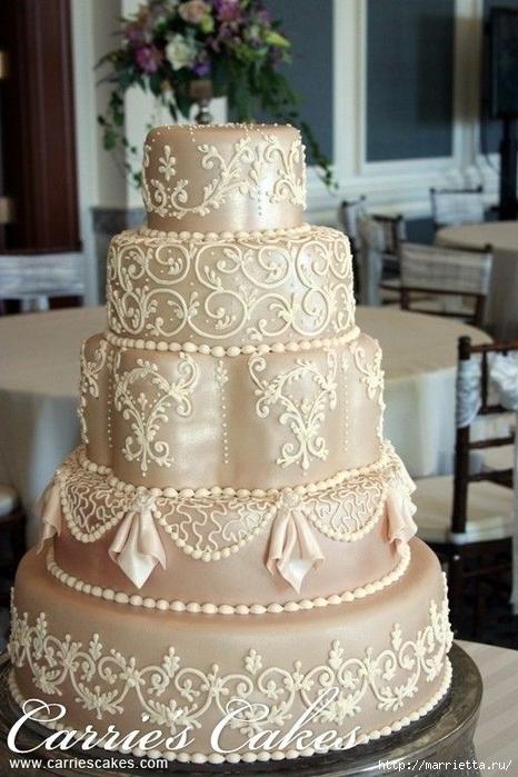 El más hermoso pastel de bodas (28) (466x700, 261Kb)