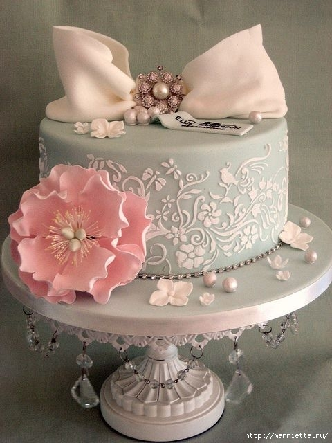 El más hermoso pastel de bodas (33) (480x640, 160Kb)