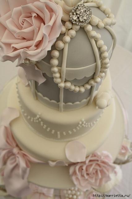 El más hermoso pastel de bodas (40) (427x640, 142Kb)