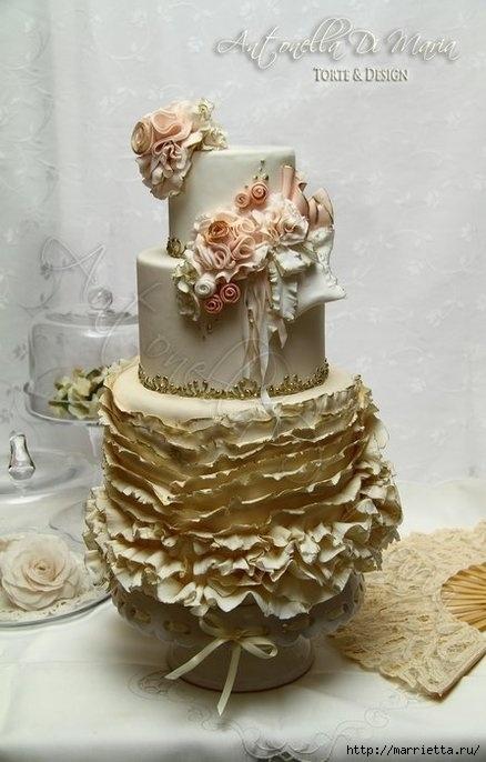El más hermoso pastel de bodas (42) (438x686, 157Kb)