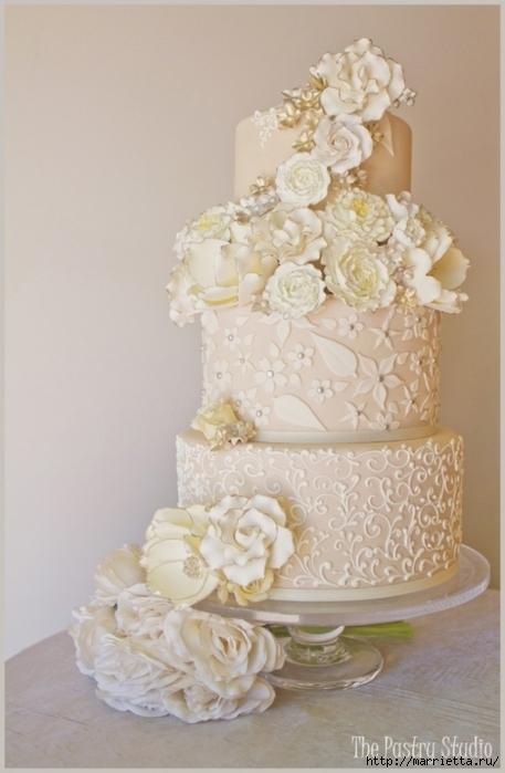 El más hermoso pastel de bodas (53) (457x700, 186Kb)
