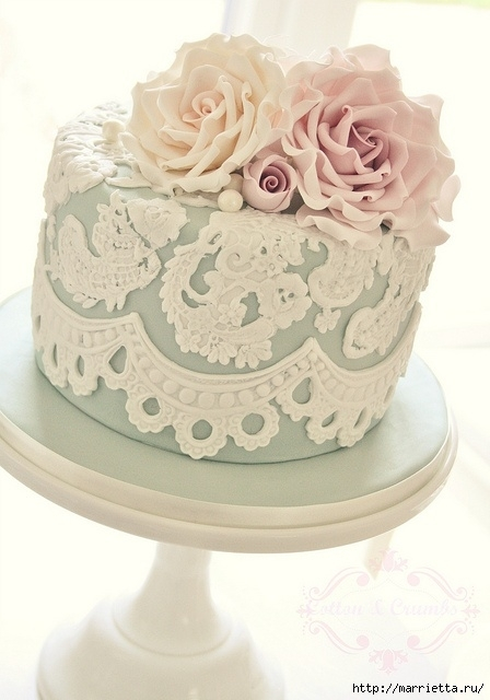 El más hermoso pastel de bodas (57) (448x640, 149Kb)