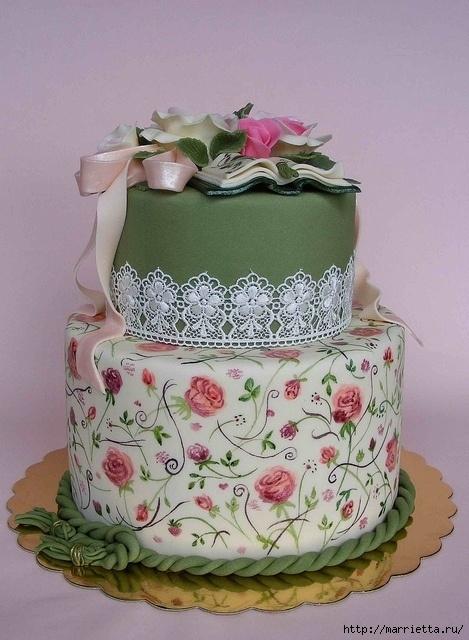 El más hermoso pastel de bodas (61) (469x640, 221Kb)
