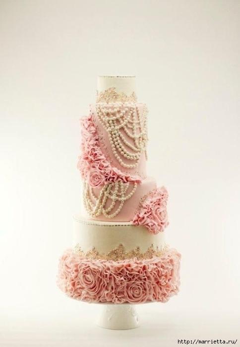 El más hermoso pastel de bodas (63) (484x700, 125Kb)