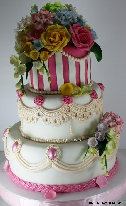 El más hermoso pastel de bodas (67) (429x700, 216Kb)