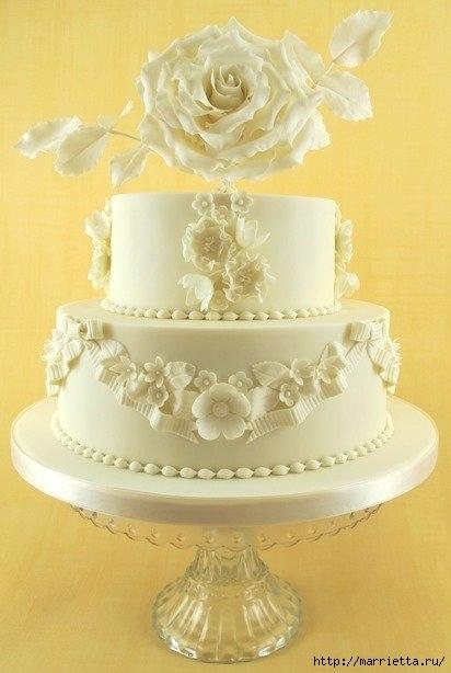 El más hermoso pastel de bodas (75) (412x614, 115Kb)