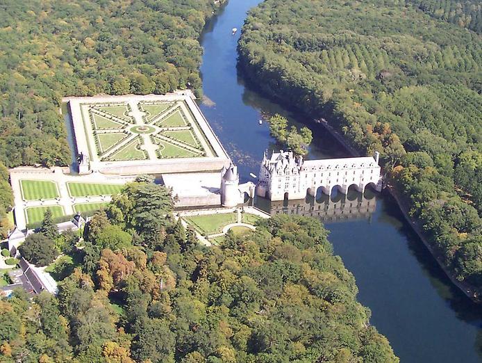 замок Шенонсо 11 (694x522, 452Kb)