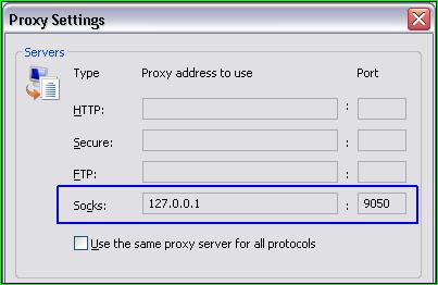 Используем TOR в любом браузере или программе