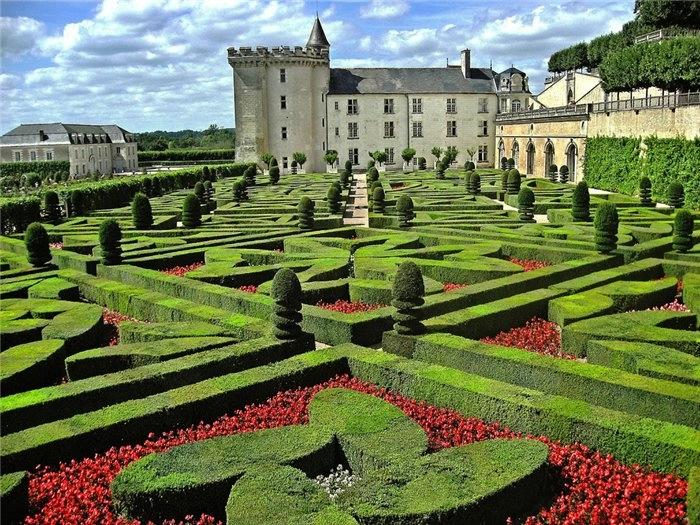 Сады замка Вилландри 2 (700x525, 349Kb)
