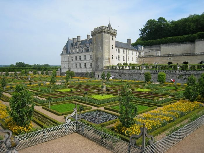 Сады замка Вилландри 9 (700x525, 215Kb)
