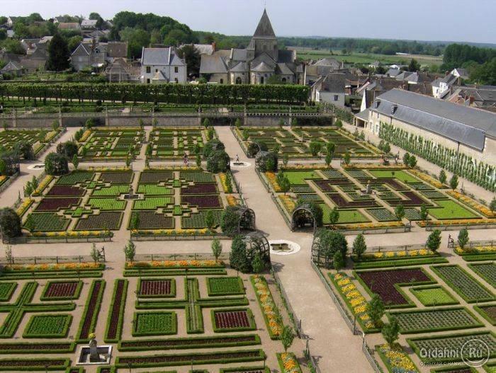 Сады замка Вилландри 11 (700x527, 245Kb)