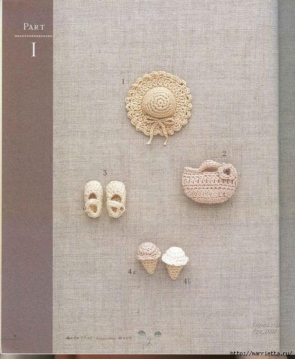 Цветочные мотивы крючком. Японский журнал со схемами (6) (573x700, 369Kb)