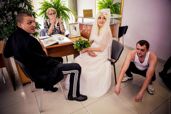 смешная свадьба фото 2 (700x466, 223Kb)