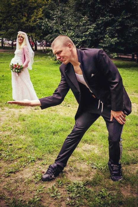 Смешная свадьба фото 15 465x700 295kb