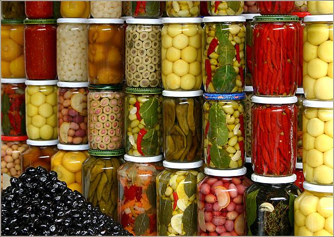 Заготовки на зиму ассорти из овощей