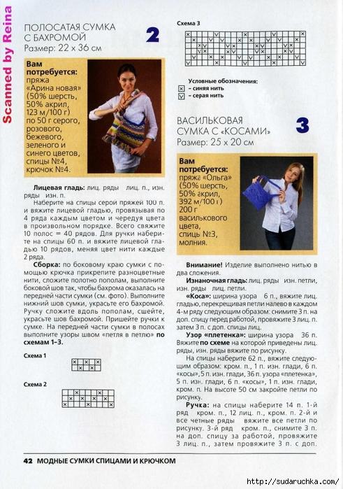 Вязаная копилка №4 2013. Модные сумки спицами и крючком_22 - копия (491x700, 315Kb)