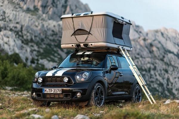 автомобиль Mini с палаткой 1 (600x401, 141Kb)