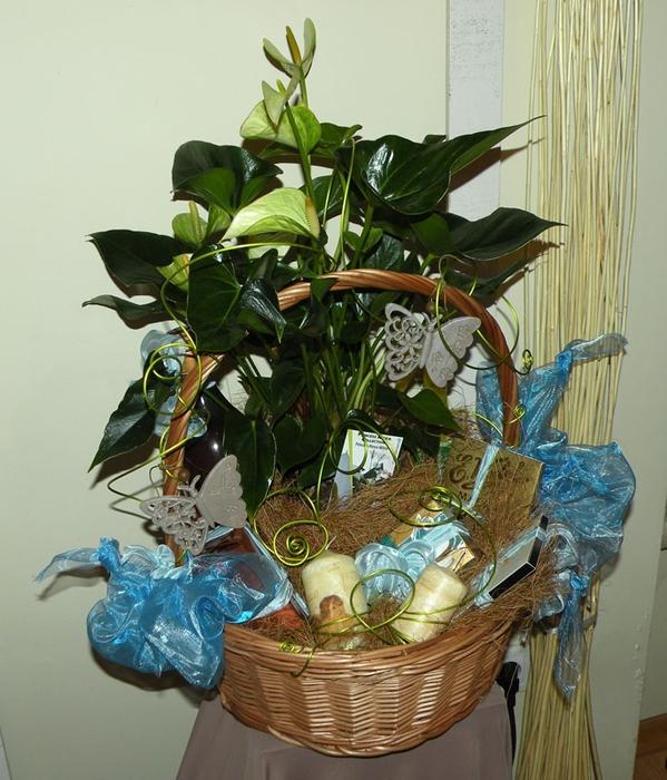 Флористический декор. Очень красивые идеи! (10) (599x700, 305Kb)