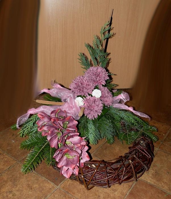Флористический декор. Очень красивые идеи! (34) (602x700, 313Kb)