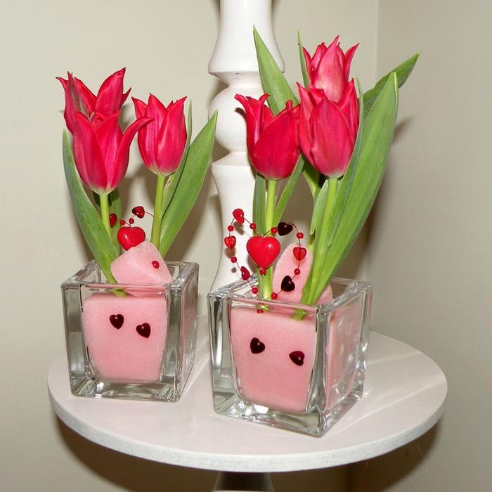 Флористический декор. Очень красивые идеи! (38) (700x700, 293Kb)