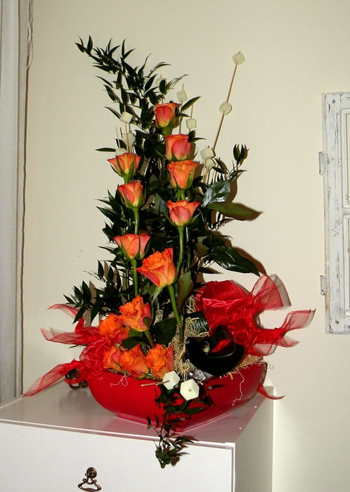 Флористический декор. Очень красивые идеи! (40) (498x700, 242Kb)