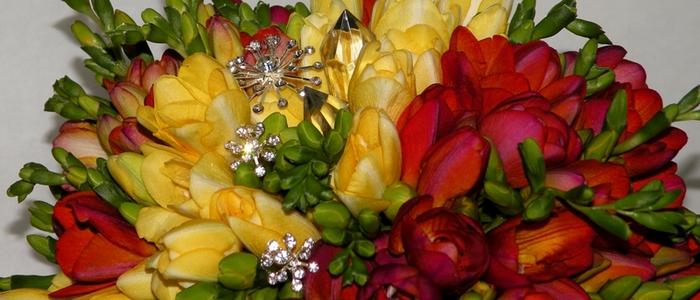Флористический декор. Очень красивые идеи! (65) (700x300, 186Kb)