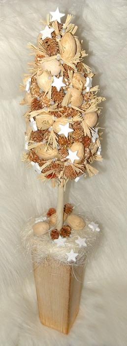 Флористический декор. Очень красивые идеи! (67) (258x700, 146Kb)