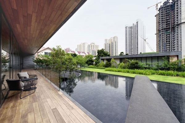 Зеленый оазис в самом сердце Сингапура