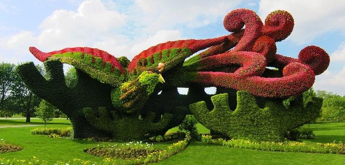 Ботанический сад Монреаль