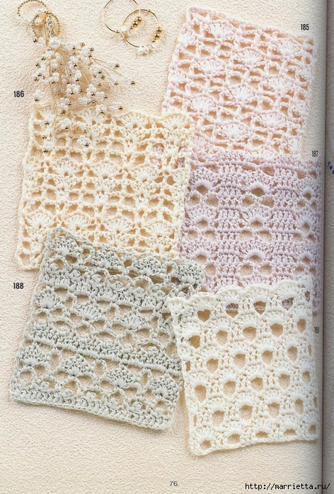 262 узора крючком. Японская книжка со схемами (67) (472x700, 360Kb)