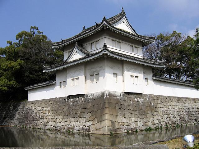 Японский замок Нидзё фото 3 (640x480, 365Kb)
