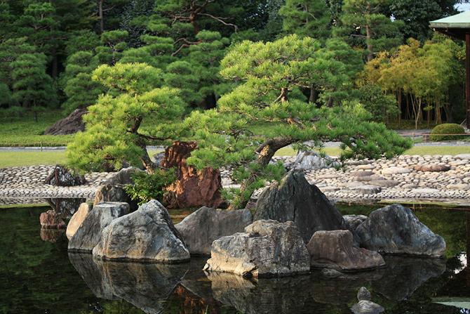 Японский замок Нидзё фото 8 (670x447, 531Kb)