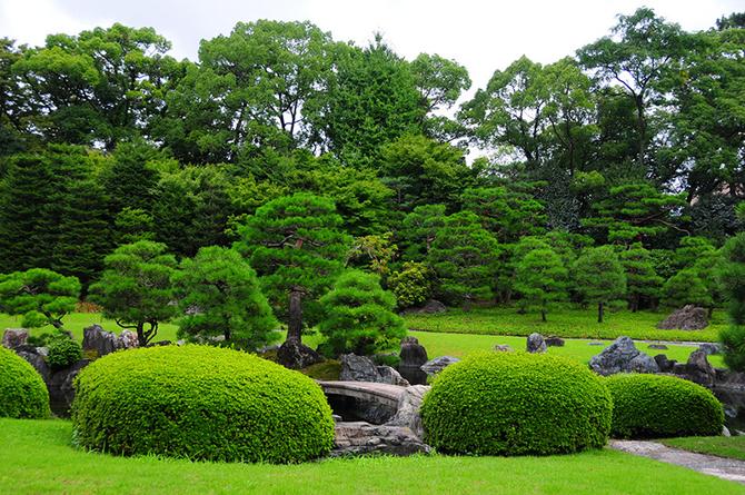 Японский замок Нидзё фото 10 (670x445, 647Kb)