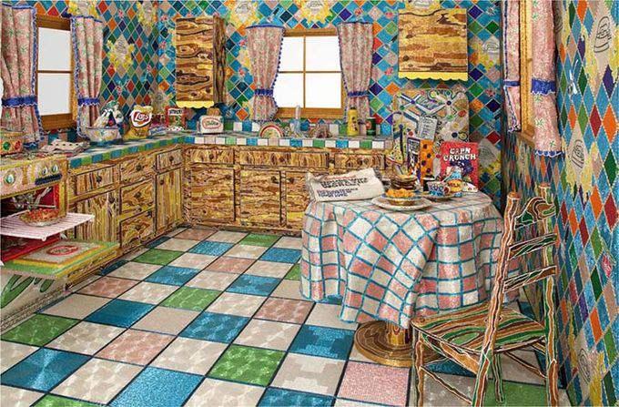кухня из бисера фото 1 (680x447, 319Kb)
