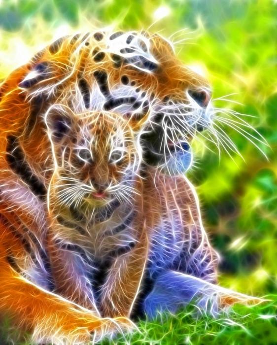электрические картины животных 23 (562x700, 312Kb)