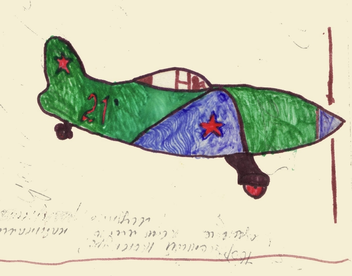 рисунок самолета (700x548, 141Kb)
