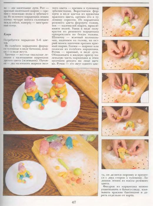 Как украсить торт в домашних условиях пошагово на годик