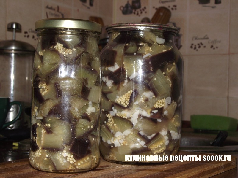 Баклажаны как грибочки рецепт с фото