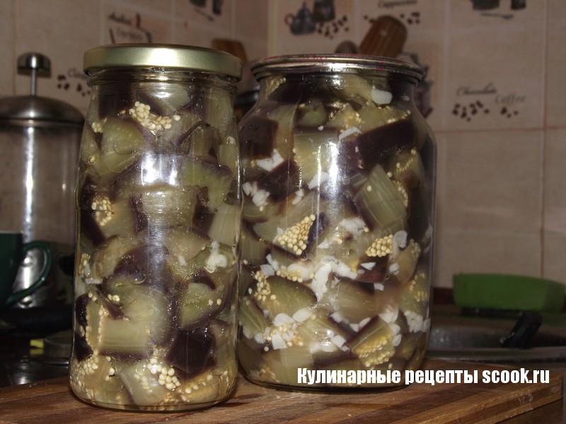 Рецепт с баклажаны как грибы на зиму